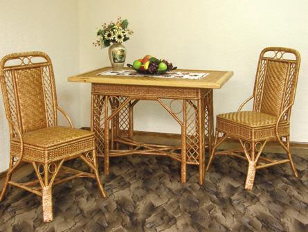 Комплект Черниговчанка - плетёная мебель ручной работы