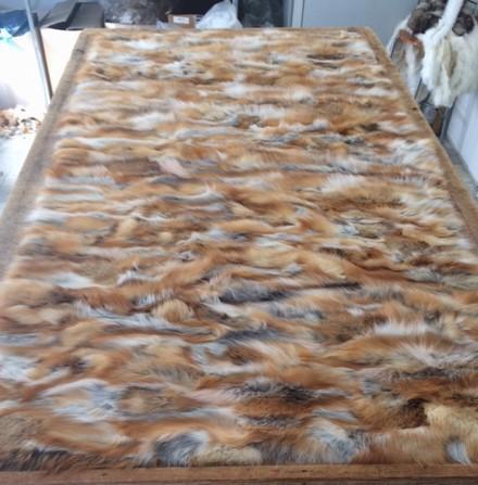 FUR PELTS - Fox pelt /real fox fur/ natural fox fur skins pelt