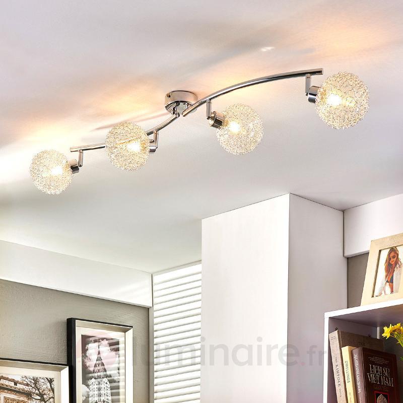Plafonnier G9 ondulé Ticino à LED - Plafonniers LED