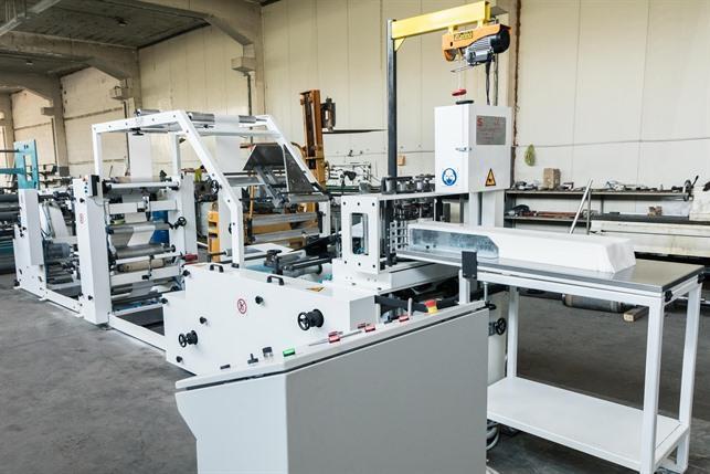 Napkin Production Machines - Napkin Production Machine NAP450