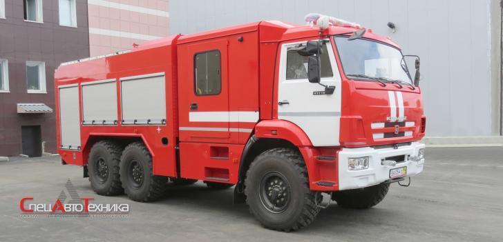 Пожарная автоцистерна АЦ-СПК-5,0-70 (43118) -