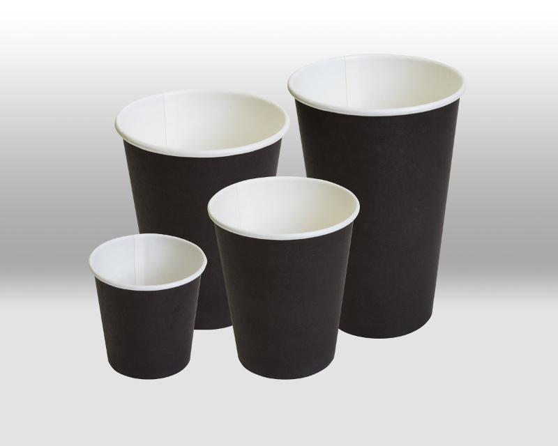 Black paper cups - PAPER CUPS