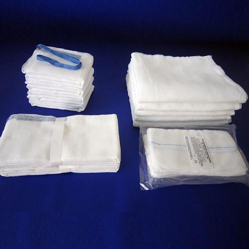 Pad de ventre chaud de haute qualité - 100% fibre de coton faite de gaze de polyester, après dégraissage de blanchiment