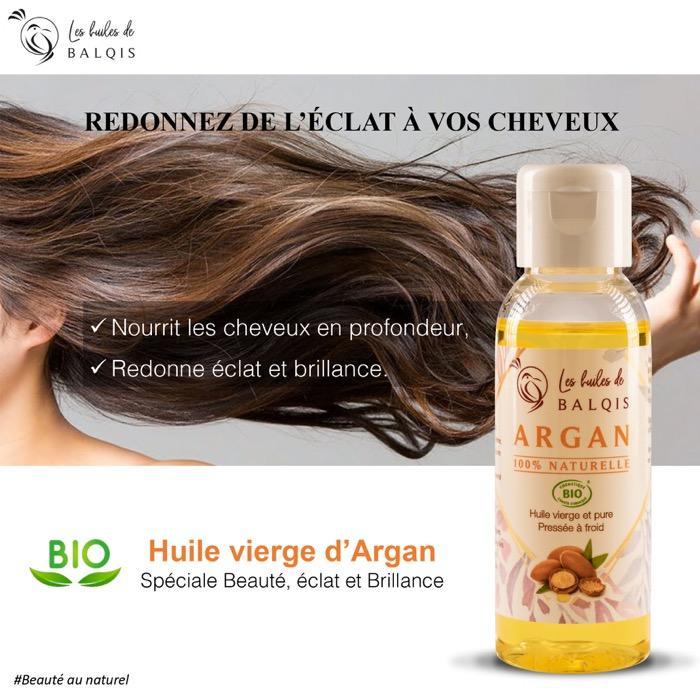 HUILE D'ARGAN PURE BIO - Beauté venue d'orient…