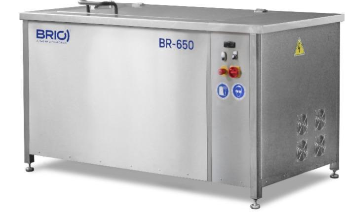 BR-650 - Máquina de limpieza por ultrasonidos manual de 650 L