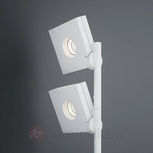 Lampadaire à 2 lampes LED Bridge - Lampadaires LED