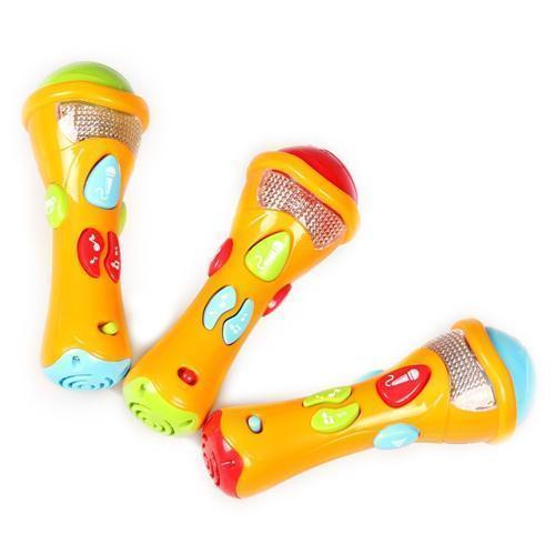 La grabación del micrófono de juguete - Wishtime bebé Sing