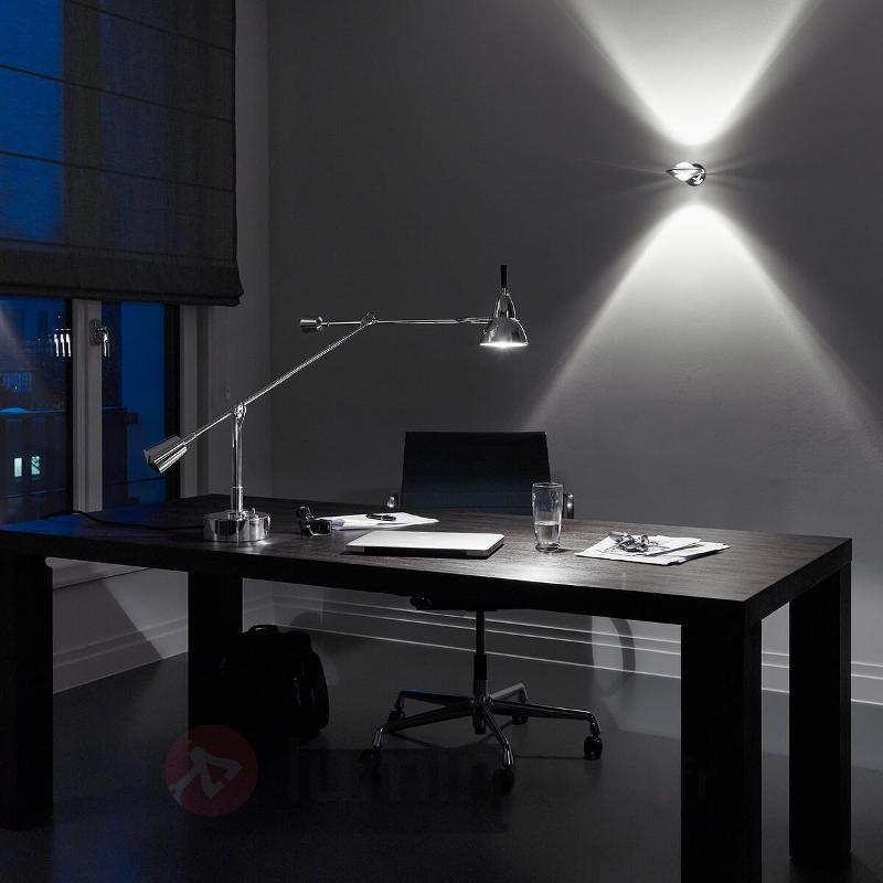 Lampe à poser Buquet argentée - Lampes à poser designs