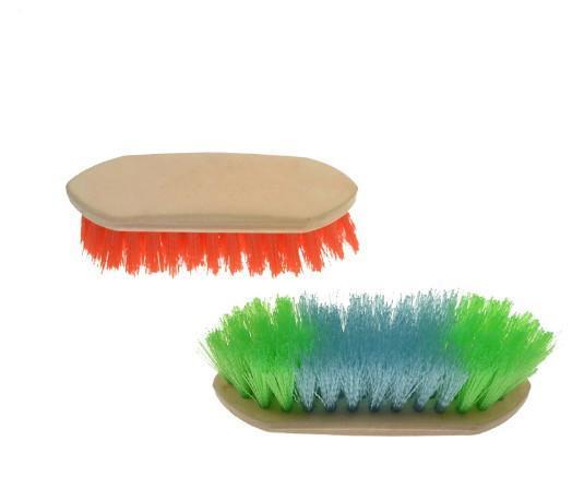 Tägliche Softgrip Körperbürste für Pferd / Rind - Pferdebürstenbürste / Pferdehaarbürste / Pferdepflegebürste
