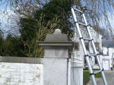 Rénovation colonne - en pierre de taille