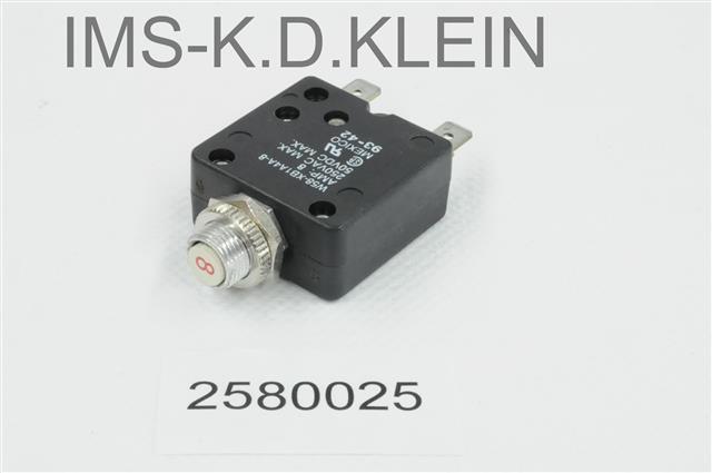 Sicherung W 58XB1A4A-8A - S-2580025