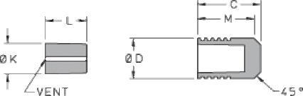Ø 406 Aluminum Lee Plug® - Long Style - null