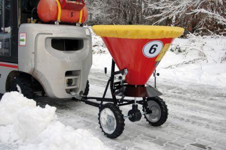 Streuwagen Typ STW - Streuwagen zum Anhängen, geeignet für Sand und Salz