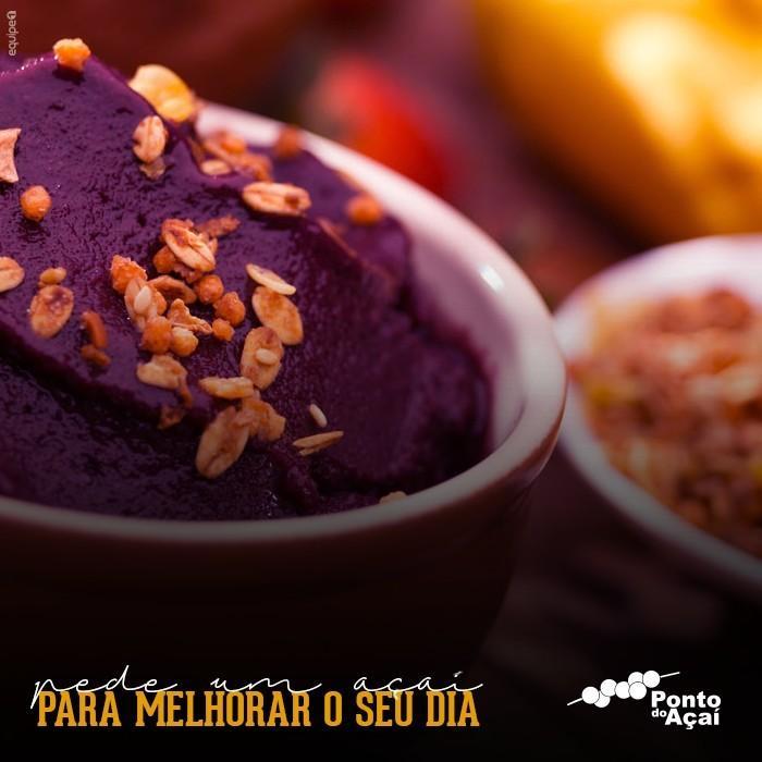 Açaí do Brasil - sorvete de açaí - Deliciosa sobremesa gelada.