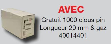 Cloueur autonome beton Hitachi NC40G - null