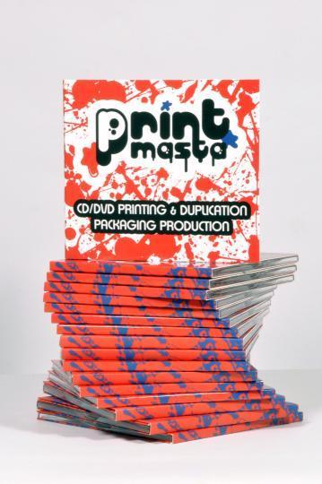 digipack/digipak digitaal gedrukt  - digipack 4 pagina, digipack 6p, digipack 8p, digitaal gedrukte cd/dvd-verpakking