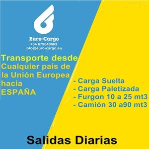 Imports to Spain - From anywhere in the world