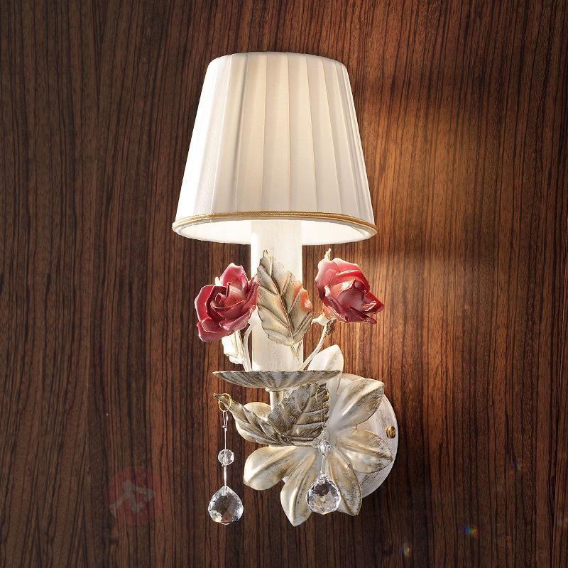 Applique Fiore à 1 lampe - Appliques style florentin