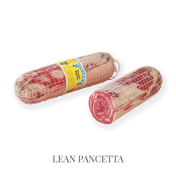 Lean Pancetta - pancetta and lard