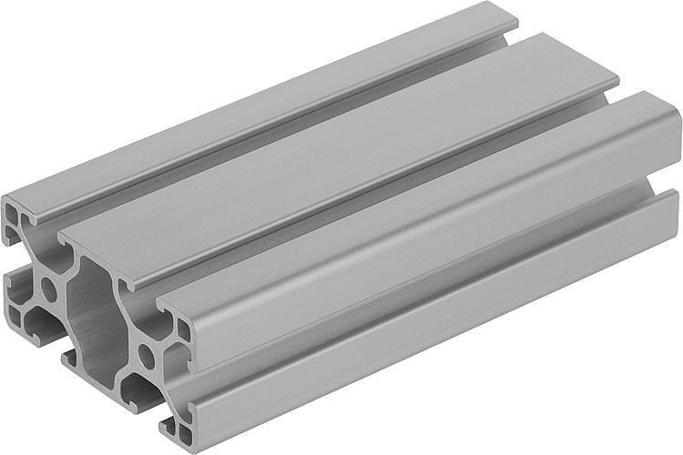 Profilés aluminium 30x60 légers Type I - Profilés aluminium