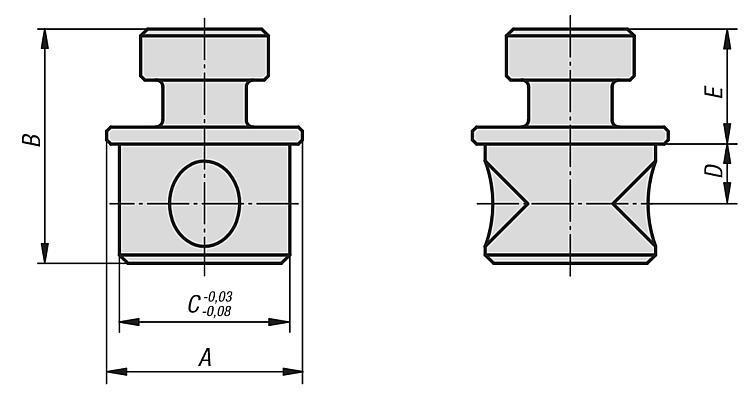 Broche de connexion - Éléments de bridage et d'ajustement