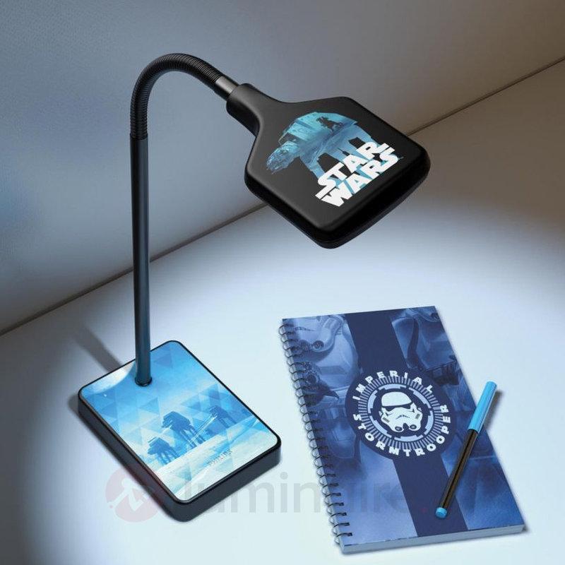 Magnifique lampe de bureau LED Star Wars - Chambre d'enfant