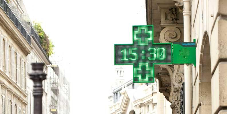 croix de pharmacie -