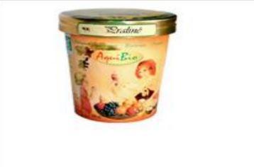 Crème glacée pralinée - Glaces biologiques