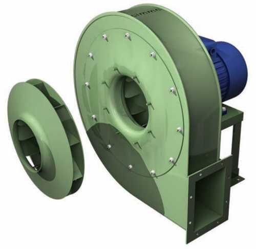 Gch - Ventilateur Moyenne Pression Type Gch - Transmission Directe - null
