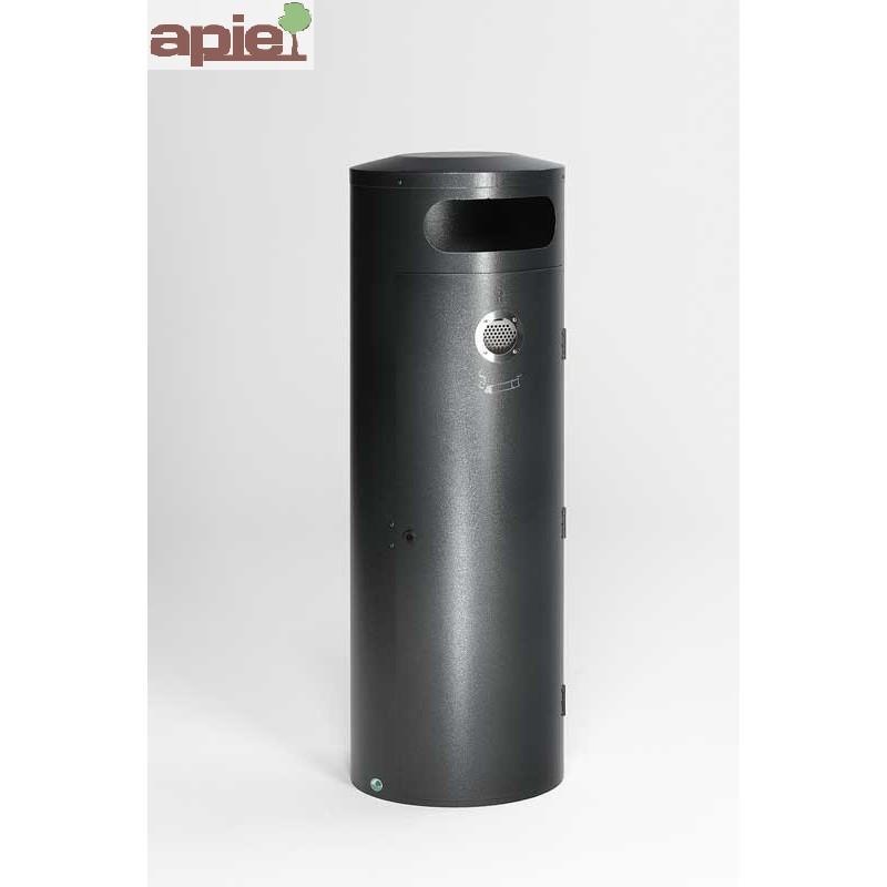 Poubelle 90 L avec cendrier incorporé - Référence : 28442
