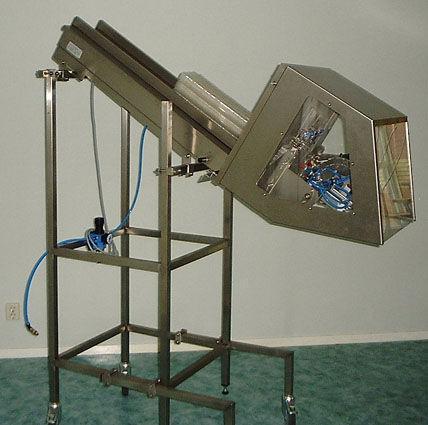 machines - afvul- en verpakkingsmachines - Ontstapelaar voor voorgevormde verpakkingen