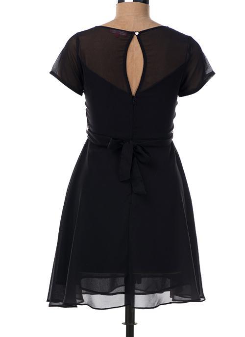 Little Black Dresses in Lazer Georgette - Manufacturer & Suppliers, India.