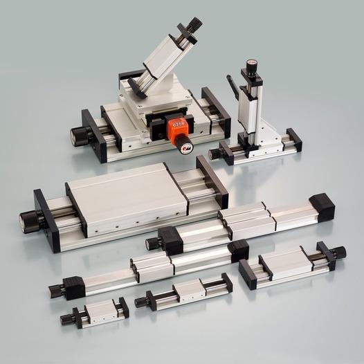 Unità lineari a mandrino RK Compact - Asse lineare profilato