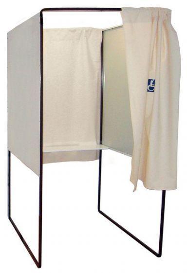 Isoloirs électoral Handicapé - Affichage - Exposition