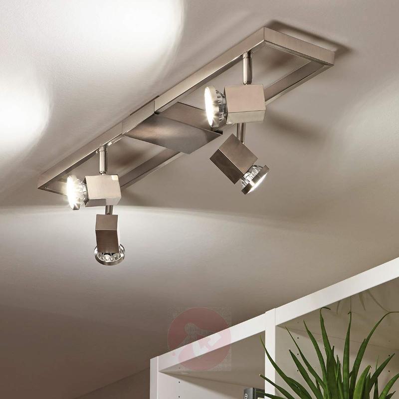 Four-bulb Zeraco LED ceiling spotlight - Ceiling Lights