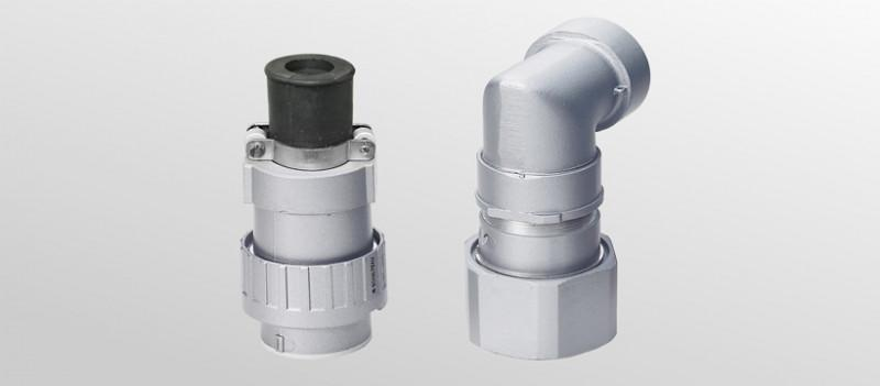 Modular connector system G57 - Rugged connector system made of aluminium die-cast
