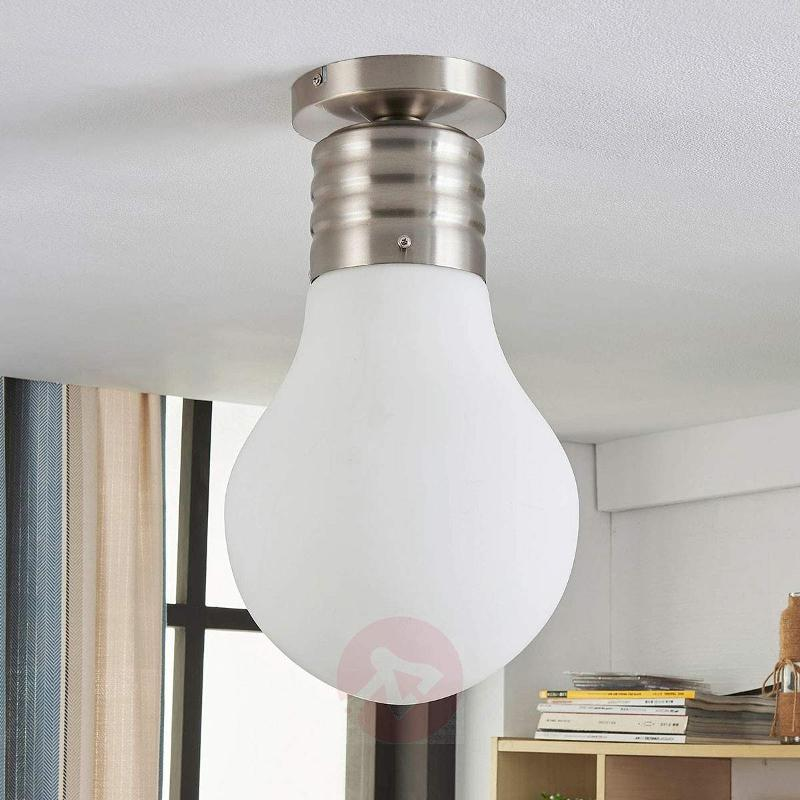 Bulb-shaped LED ceiling lamp Bado, Easydim - Floor Lamps