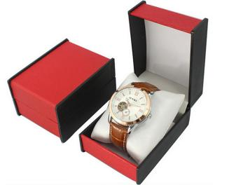 Red color watch box