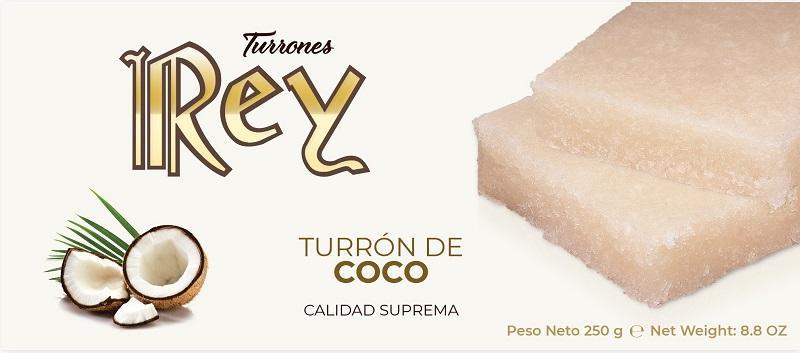 TURRÓN DE COCO - 250GR CALIDAD SUPREMA
