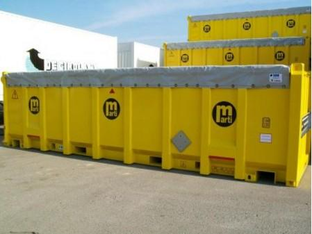 Bulk Carrier Containers - Designed and built for intermodal transport (road / rail / sea) of bulk goods