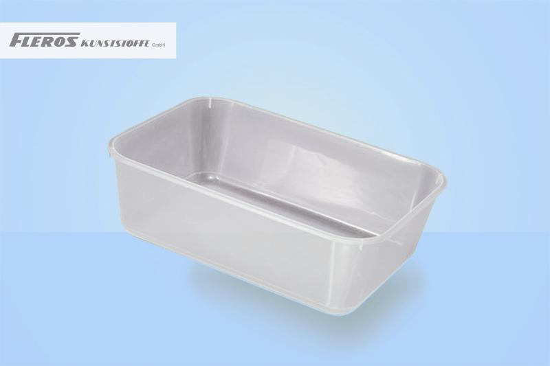 Rectangular bowls - SR 1.500 rectangular counter bowl