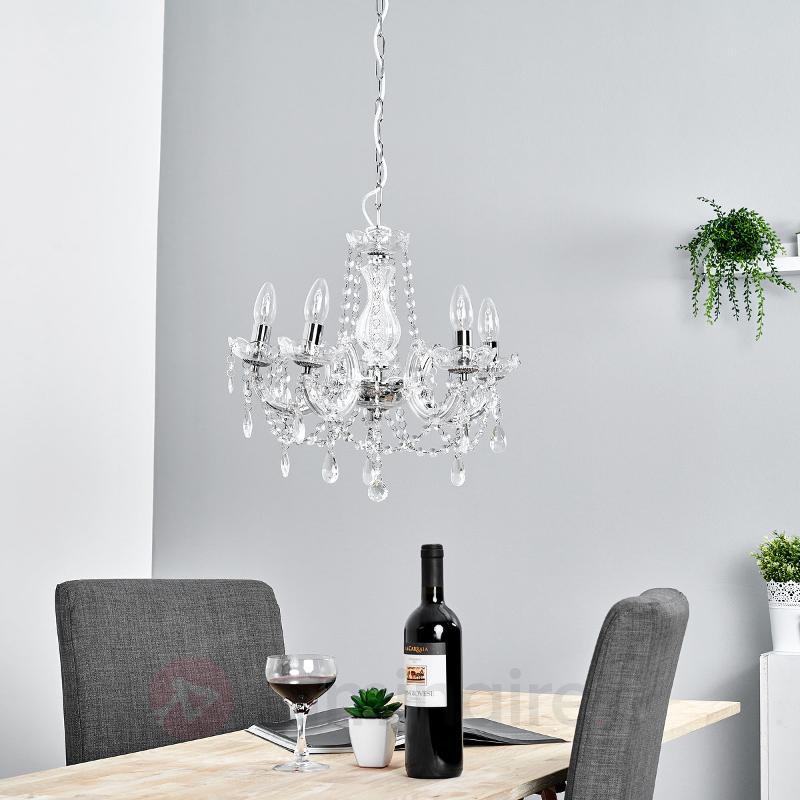 Lustre classique MARIE THERESE à 5 lampes - Lustres classiques,antiques