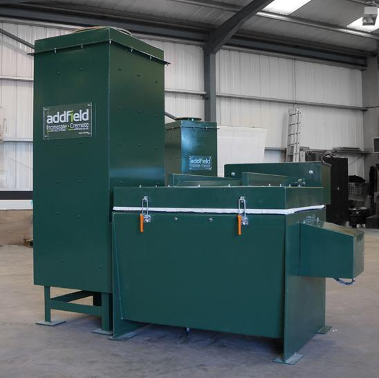 Addfield Poultry & Chicken Waste Incinerator - Addfield Mini AB