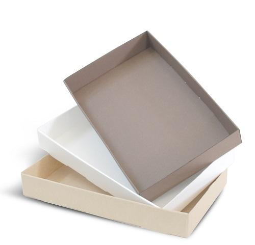 Oven- and microwave-safe disposable cardboard tray