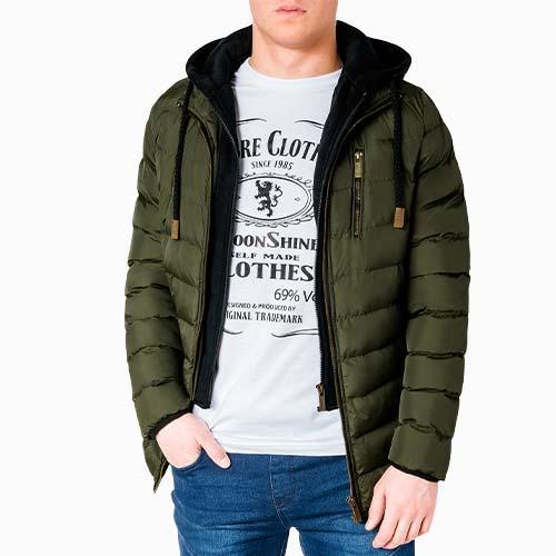 KURTKI MĘSKIE - przejściowe, bomberki, jeansowe, zimowe