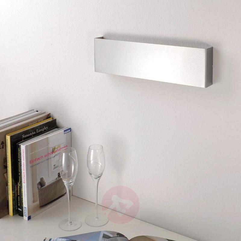 Rectangular Maja LED wall light, 38 cm - Wall Lights