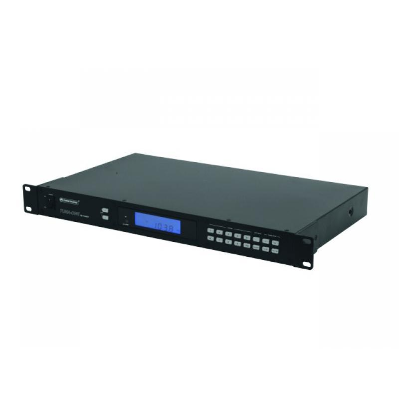 DJ SD/USB-Player - Omnitronic TUNA-ONE FM-Tuner