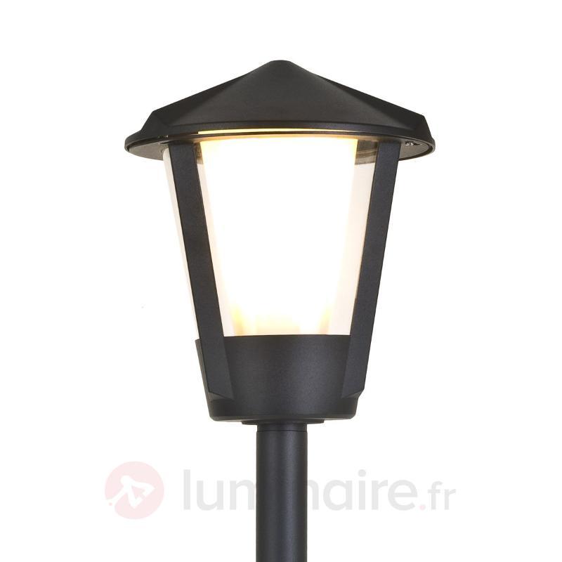 Borne lumineuse Horn aluminium couleur anthracite - Toutes les bornes lumineuses