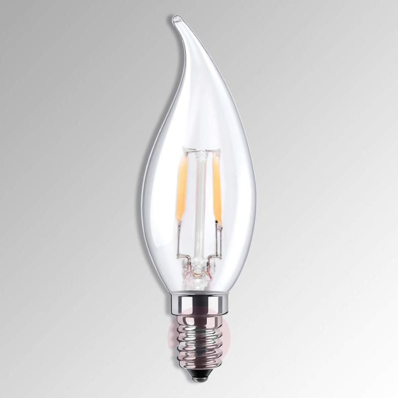 E14 2.7 W 826 LED flame tip candle bulb - light-bulbs