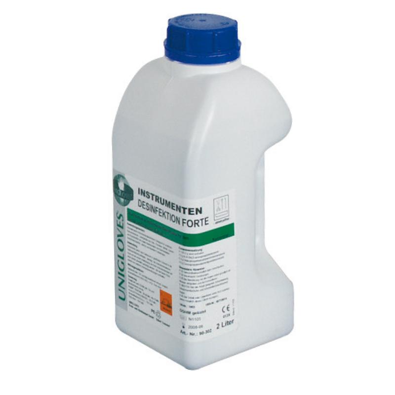 Instrumenten-Desinfektion, 2 Liter / Flasche - Instrumentendesinfektion